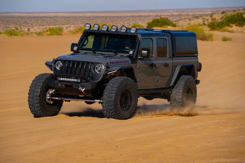 zeus, our 2021 custom build jeep gladiator - forged 4x4